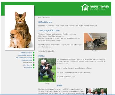 Anifit Tierhilfe Bildquelle (c) Anifit